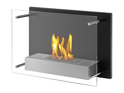 Amazoncom Ignis Senti Ventless Wall Mounted Bio Ethanol Fireplace