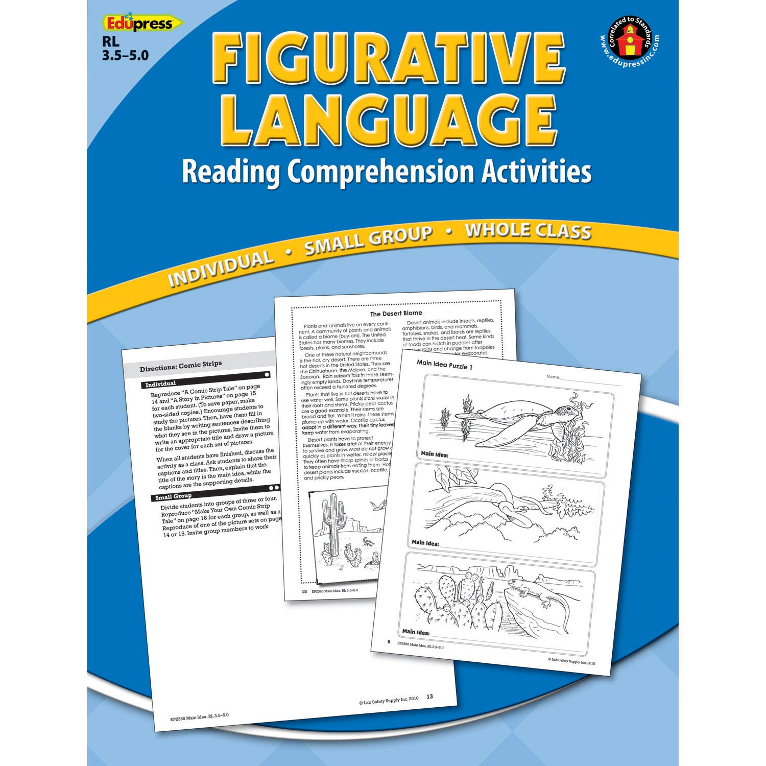 Amazon.com: Edupress EP-2371 Blue Level Figurative Language Reading ...