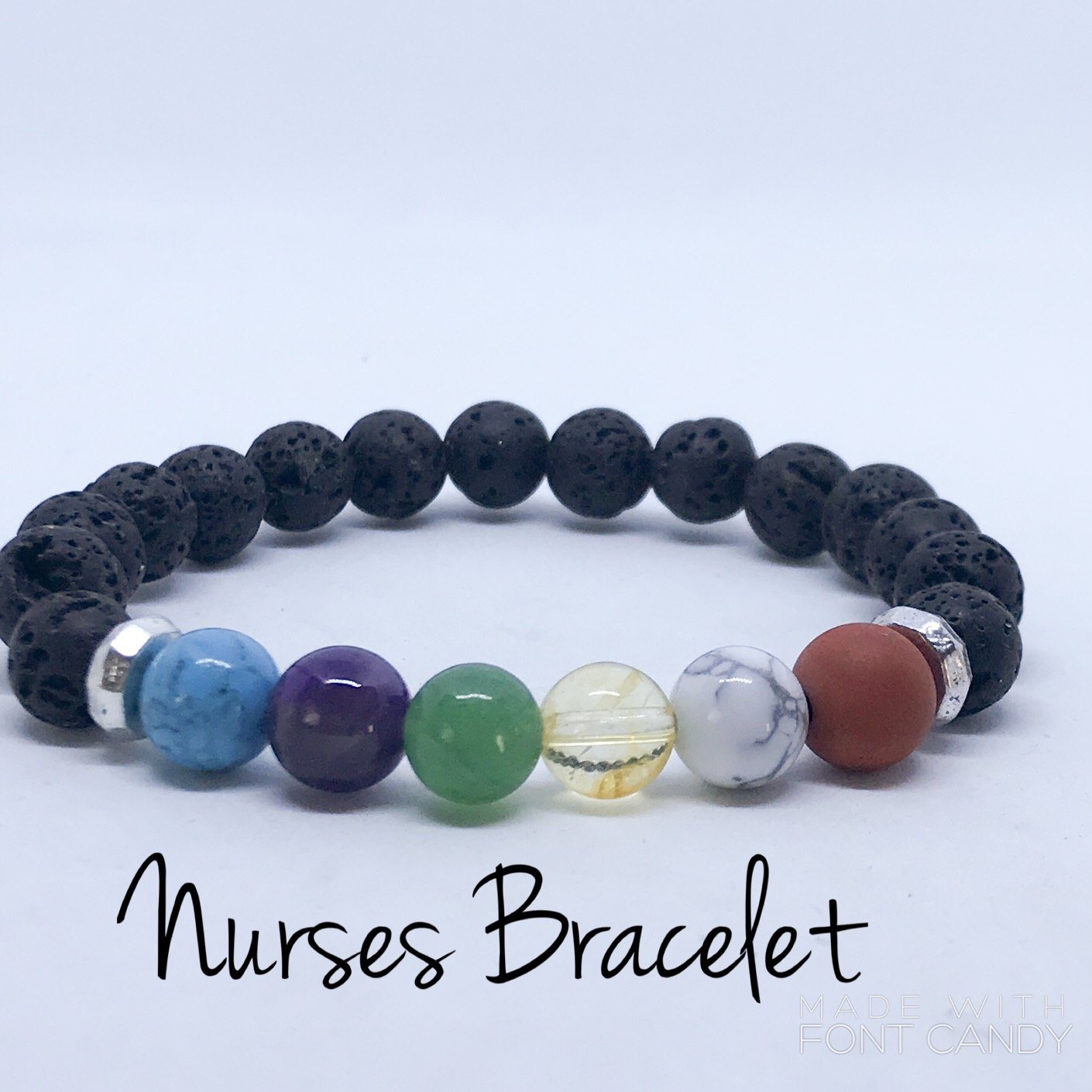 Nurses Support Aromatherapy Diffuser Bracelet