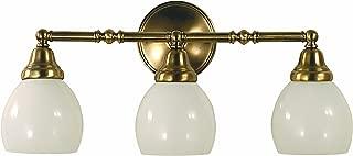 product image for Framburg 2429 BN 3-Light Sheraton Sconce, Brushed Nickel