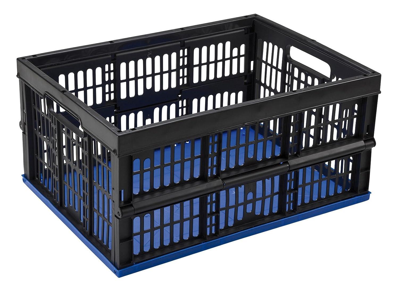 Amazon.com: Mondex Fold Box Fold Up Box 32 litres Diameter 48 x 35 x 25 cm: Kitchen & Dining