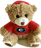 Georgia Bulldogs Baby Gift Set Red Booties - UGA