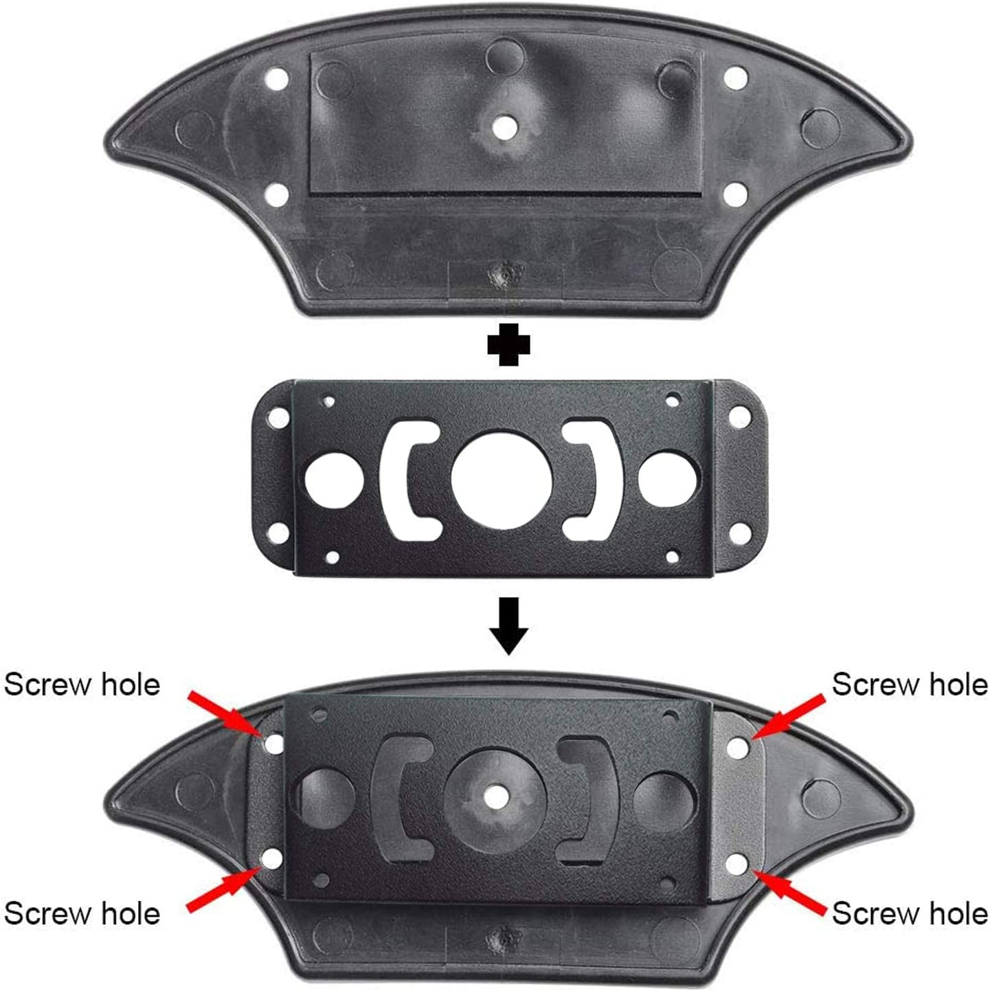 VECLESUS Backup Camera Bracket Adapter Compatible with Furrion Pre-Wired RVs