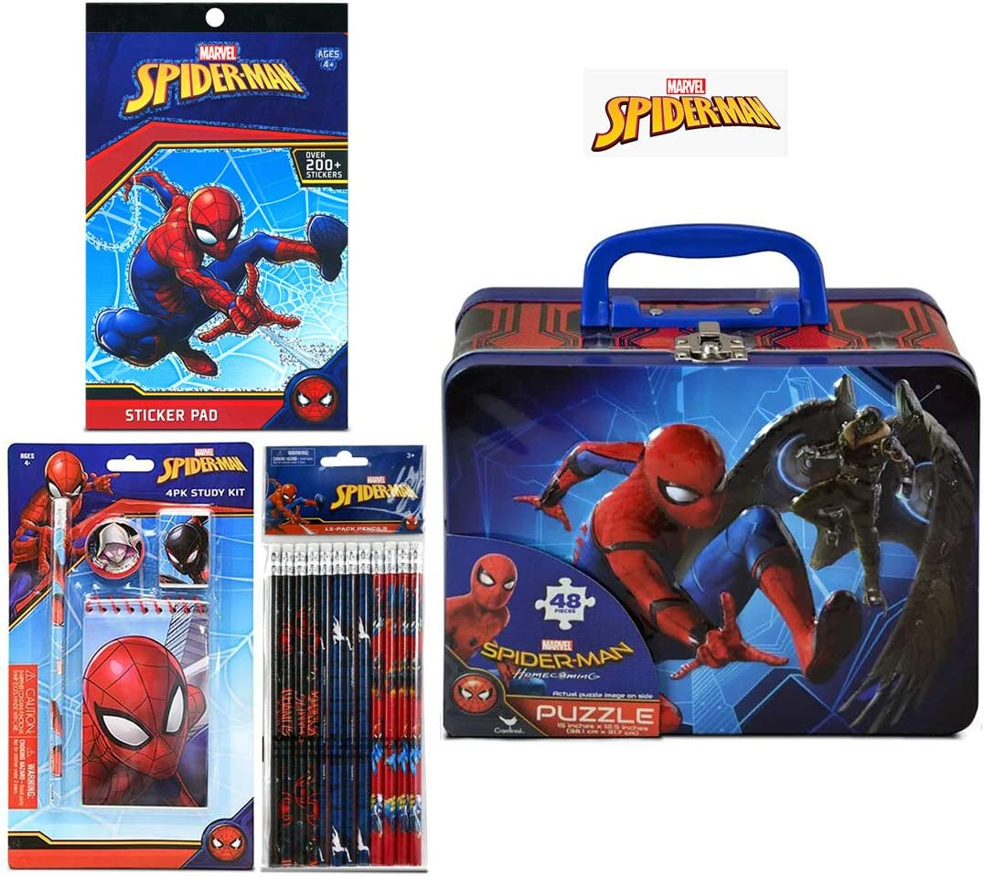 Marvel Spiderman 4pk Study Kit