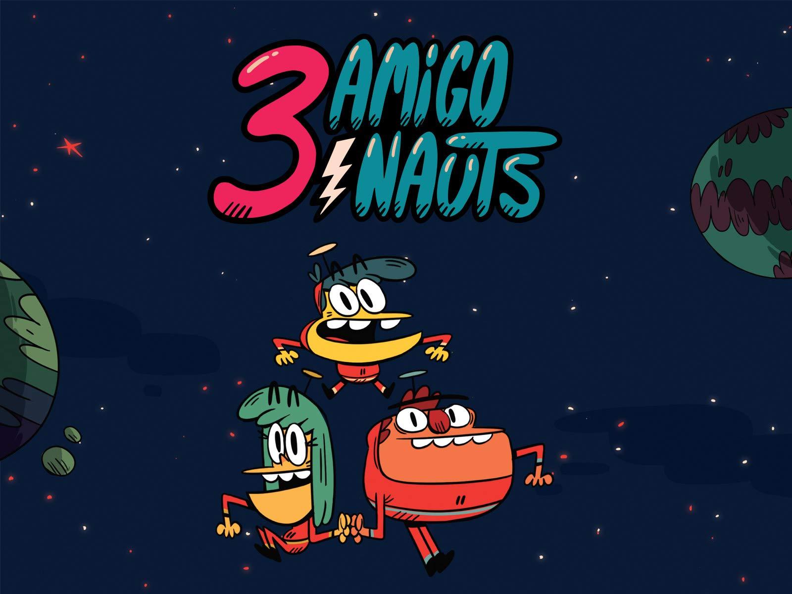 3 Amigonauts
