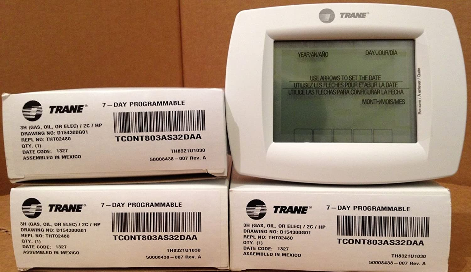 Amazon.com : Trane Commercial Programmable Thermostat - TCONT803AS32DAA : Everything Else