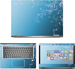 "decalrus - Protective Decal Skin Sticker for HP EliteBook X360 1030 G2 (13.3"" Screen) case Cover wrap HPelitebk1030g2-25"
