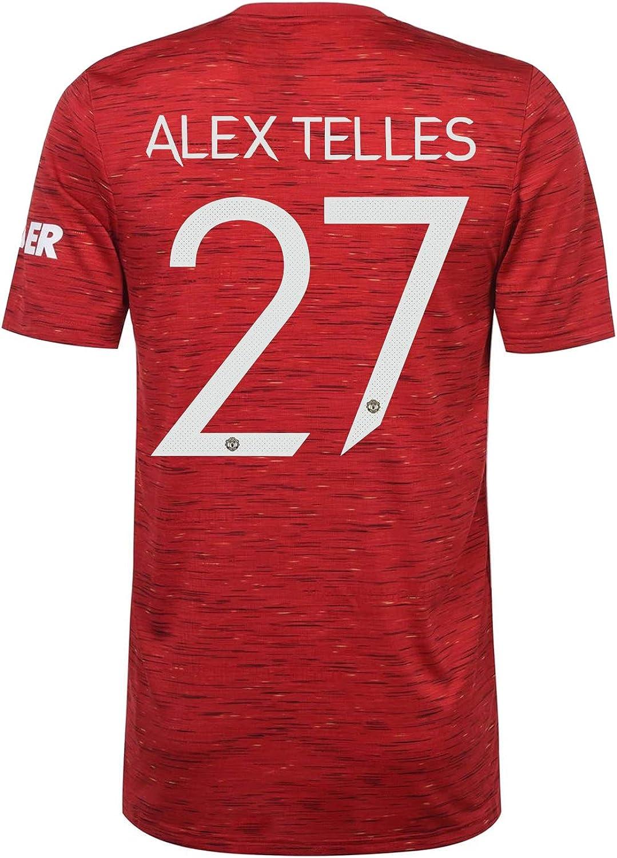 Manchester United FC Home Shirt 2020/2021 Mens - Official Soccer Kit