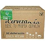 #Cervezanía. Bio kit fermentazione birra. Malto Pilsen Ale. Manuale inglese / spagnolo