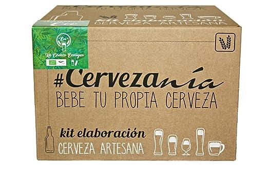 4 opinioni per #Cervezanía. Bio kit fermentazione birra. Malto Pilsen Ale. Manuale inglese /