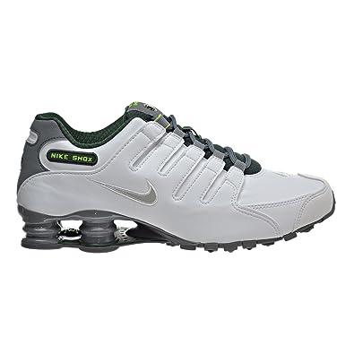Nike Shox NZ se Scarpe da Corsa, Bianco (WhiteMetallic