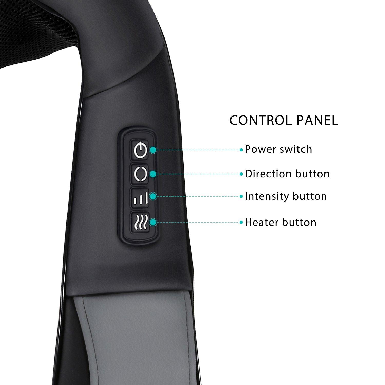Naipo MGS-801 Nackenmassagegerät Bedienung