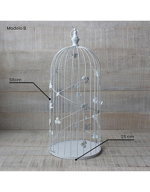 Hogar y Mas Jaula Decorativa de Metal para decoración - Diseño ...