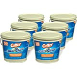 Cutter Citro Guard Candle, Bucket, Tan, 17-Ounce, 6-Count