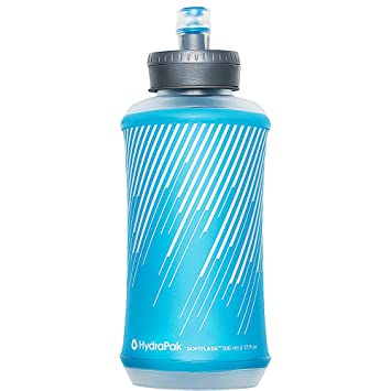 Hydrapak Softflask 500, Unisex, Malibu Blue, 500 ML