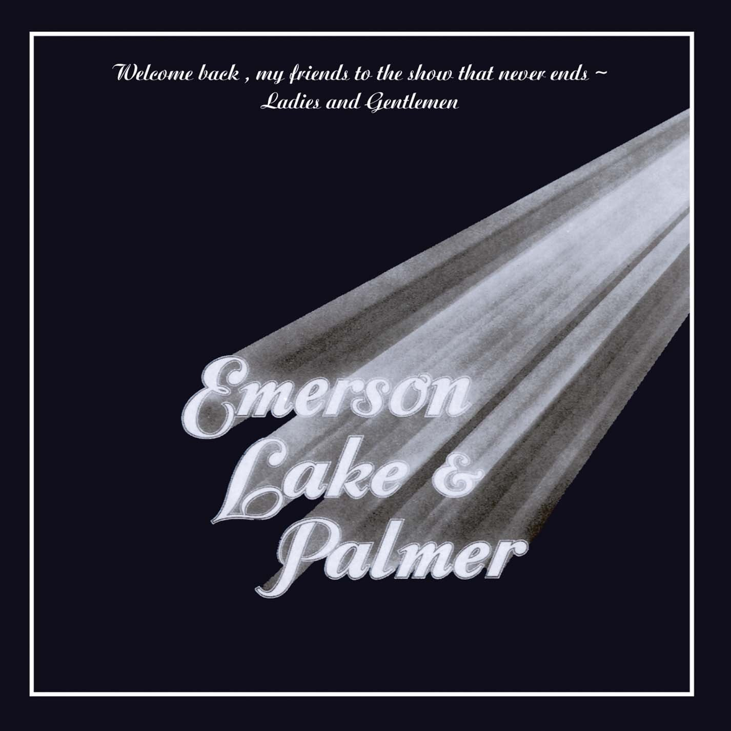 Vinilo : Emerson, Lake & Palmer - Welcome Back My Friends To The Show That Never End - Ladies and gentlemen (3 Disc)