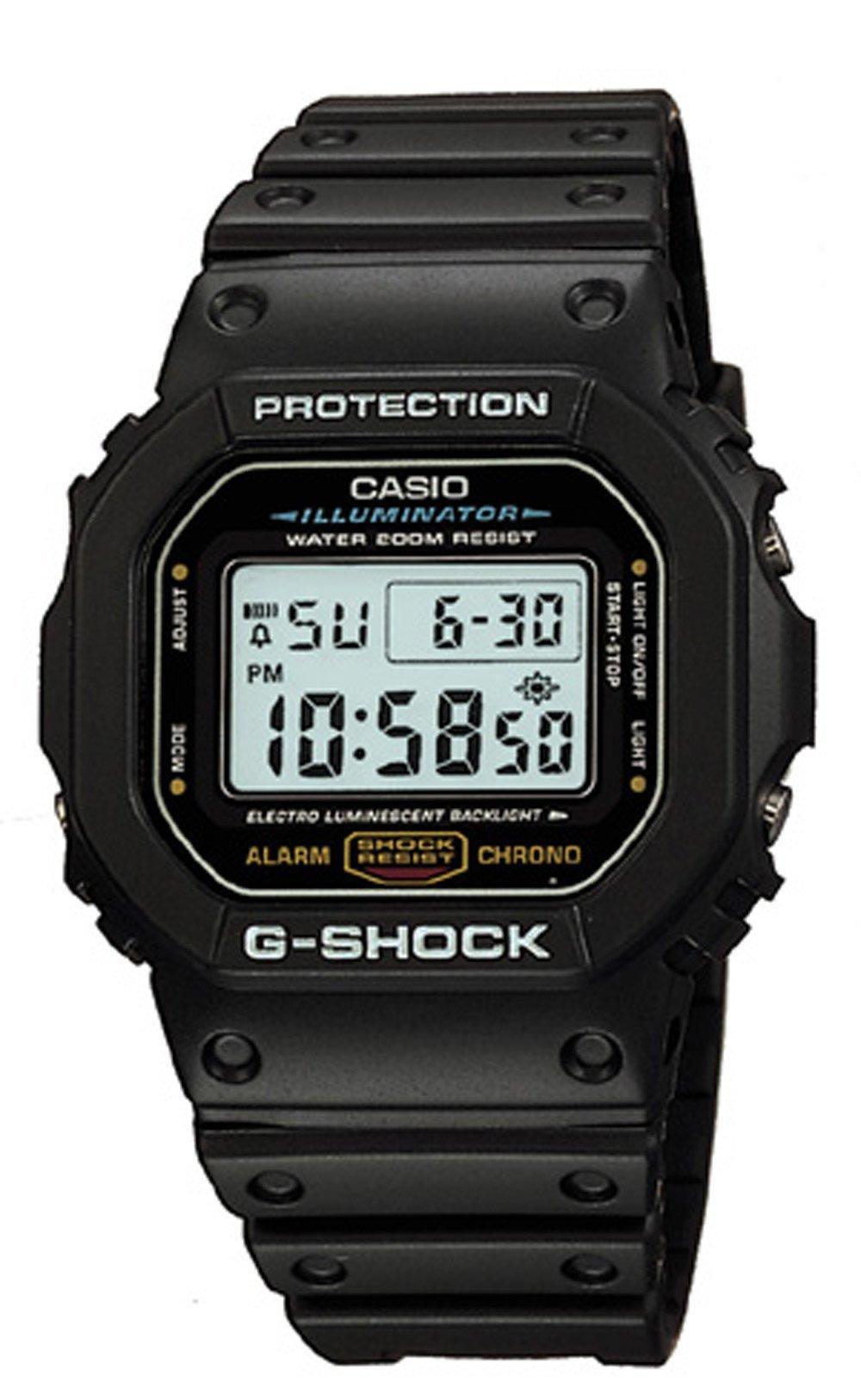 galleon g shock dw5600e 1v s black resin sport