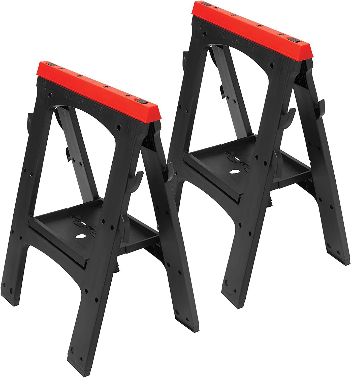 Performance Tool W54009 Heavy Duty best Plastic Sawhorse