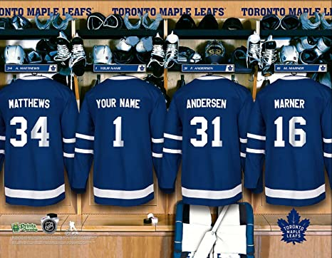 newest eca48 adf90 Amazon.com : Personalized Toronto Maple Leafs Wall Poster ...
