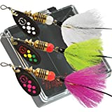 Mepp's Black Fury Dressed Trout Fishing Lure Pocket Pack