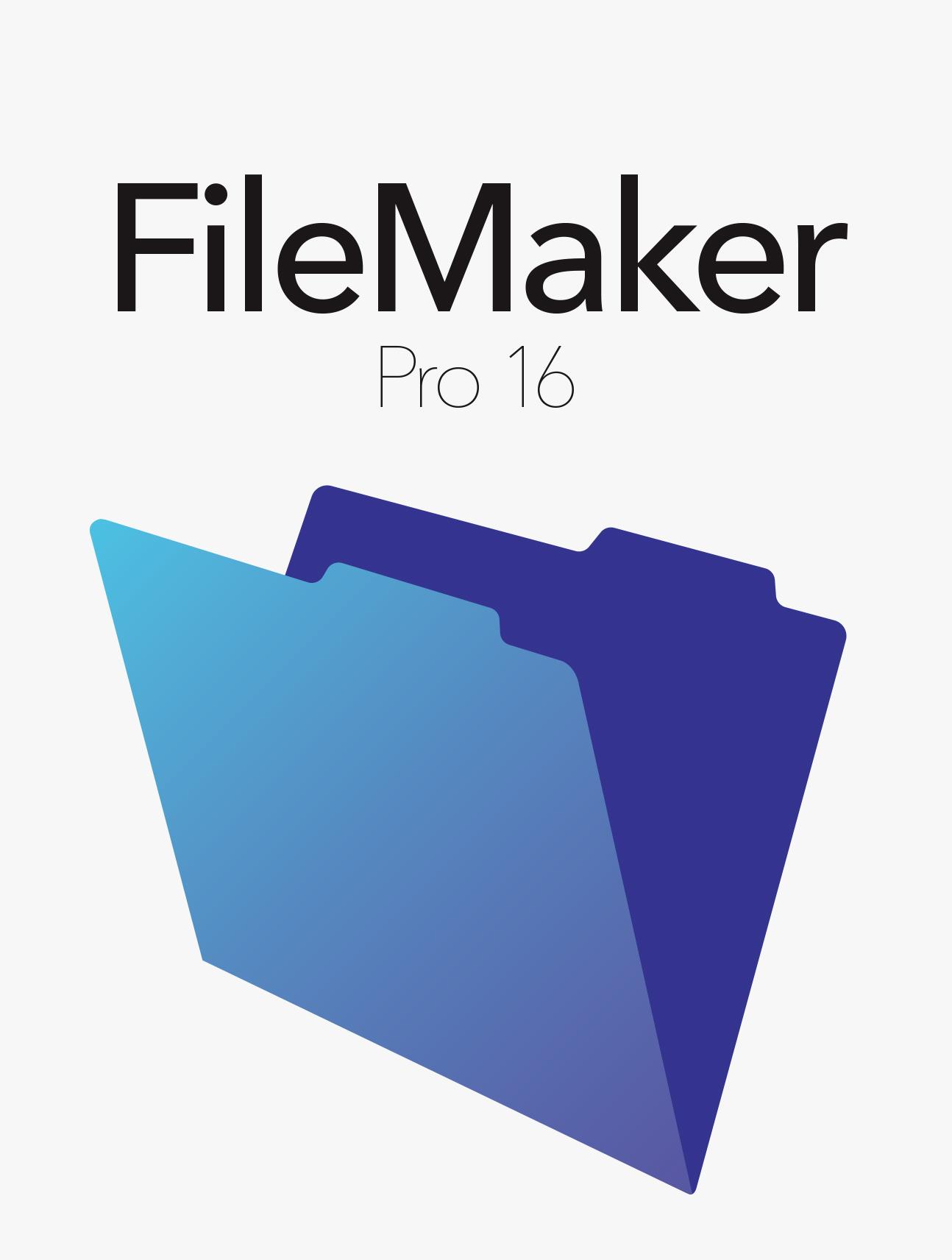 FileMaker Pro 16 Upgrade Download Mac/Win [Online Code]