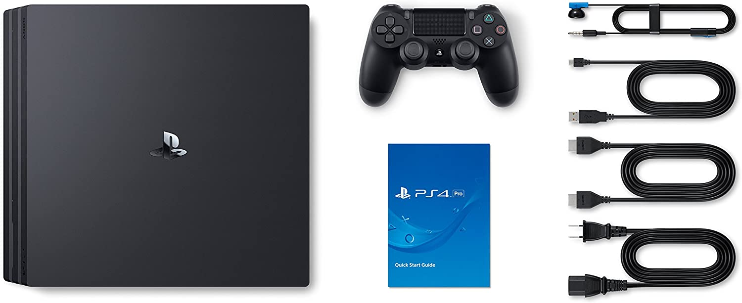 Amazon Com Sony Playstation 4 Pro 1tb Video Games