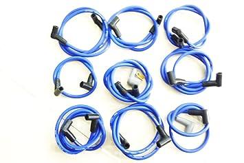 Alto rendimiento chispa enchufe cables Cable cables 73684 nuevo para Chevy 350 90: Amazon.es: Coche y moto