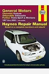 Chevrolet Venture, Oldsmobile Silhouette, Pontiac Trans Sport & Montana (97-05) Haynes Repair Manual Paperback
