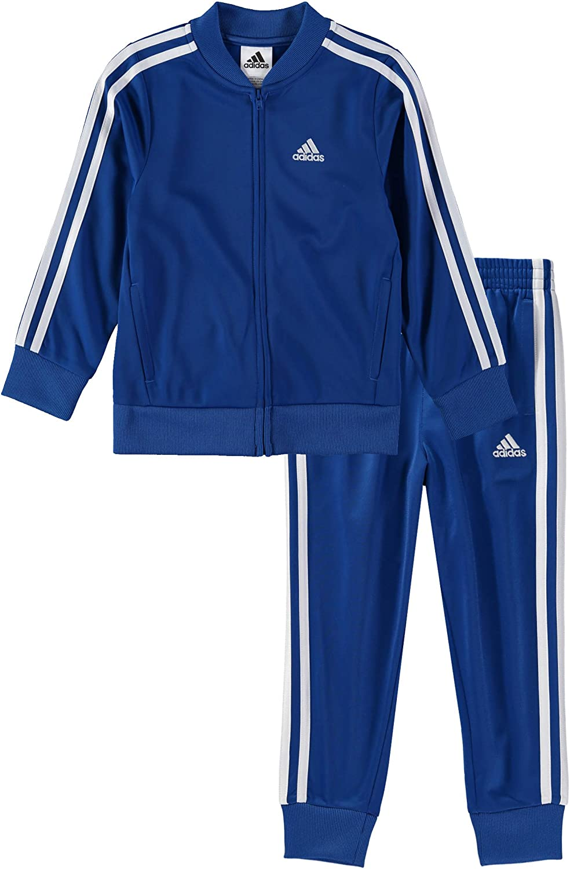 adidas Boys Tricot Jacket and Pant Set