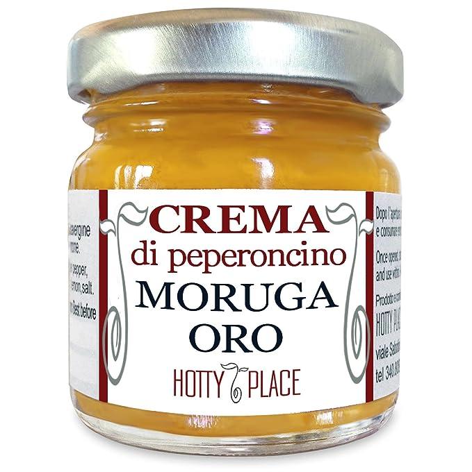 6 opinioni per Crema MORUGA GIALLO Trinidad Scorpion Peperoncino Piccante ESTREMO- Miglior