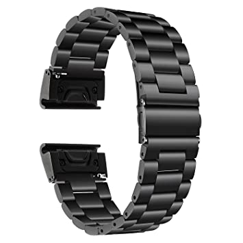 TRUMiRR Fenix 5 Correa de Reloj, 22mm Banda de Reloj de Pulsera de ...