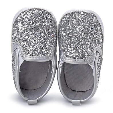 Amazon.com: Voberry - Zapatillas de lentejuelas con suela ...