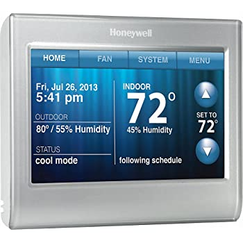 Honeywell RCHT8610WF2006 Lyric T5 Wi-Fi Smart 7 Day Programmable ...