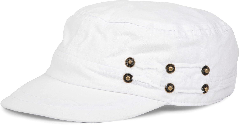 verstellbar Vintage styleBREAKER Military Cap im Washed Used Look Unisex 04023011