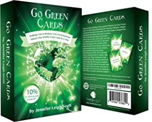 Earth Day is Every Day with Go Green Cards! - Sustainable Living Made Easy & Fun! | Weekly Action Steps | Great Family Activities | Going Green | Sustainability | Great Eco Friendly Gift