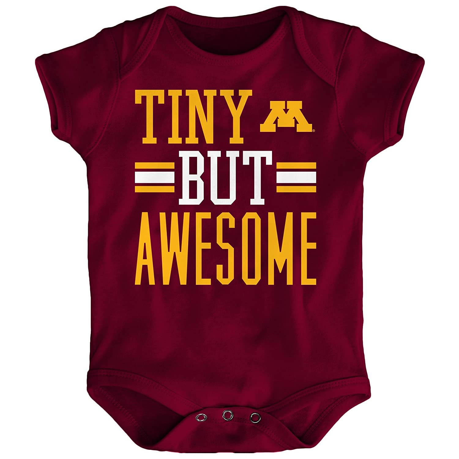 Outerstuff NCAA Boys Tiny But Awesome Short Sleeve Onesie