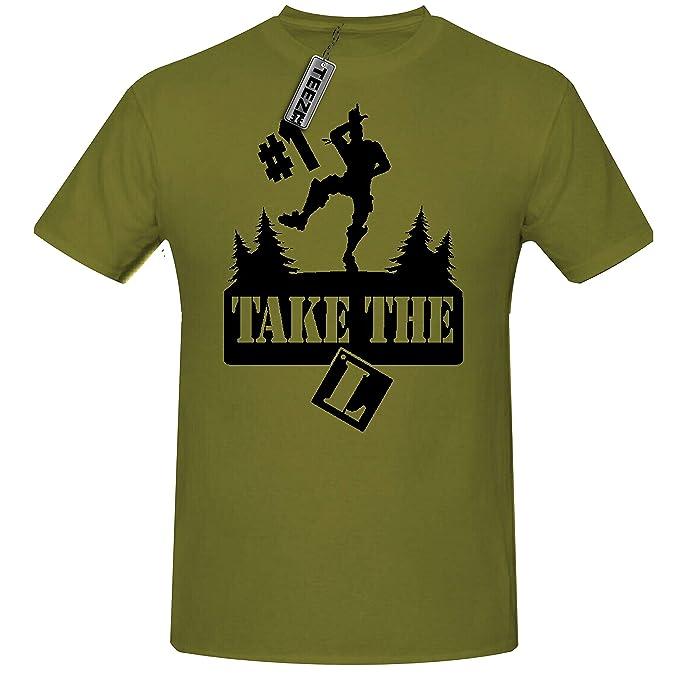 Childrens Gaming t Shirt,Gaming Dance t Shirt. Take The L t Shirt Boys' Clothing