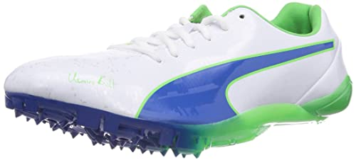 b04e0684114d14 PUMA Bolt Evospeed Electric V2 Running Spikes - 10.5 - Blue  Amazon ...