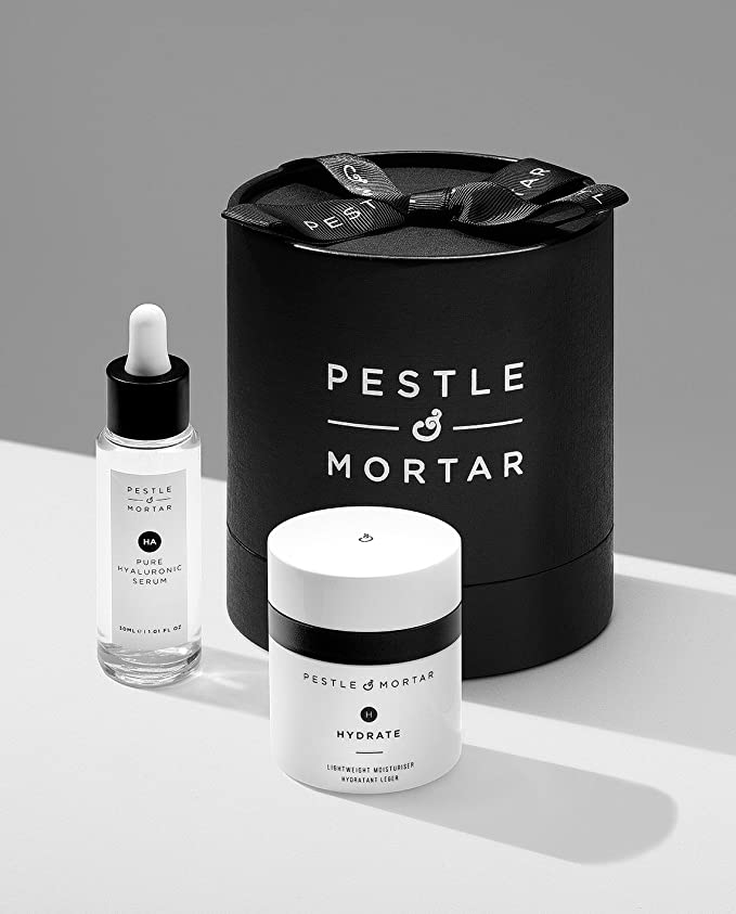 Pestle & Mortar Hydrating Duo Gift Set - Pure Hyaluronic Serum 30ml