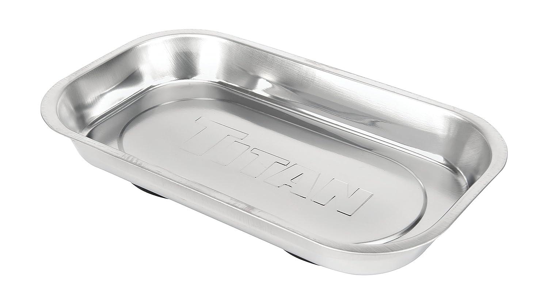 Amazon.com: Titan Tools 21265 Rectangular Magnetic Parts Tray (5-3/8