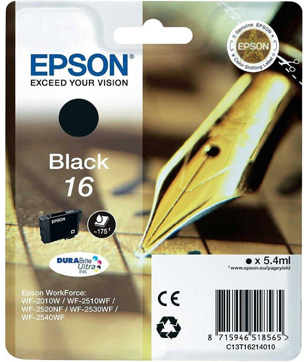 Epson Workforce WF-2630WF - Impresora multifunción de tinta + Cartucho Negro: Amazon.es: Informática