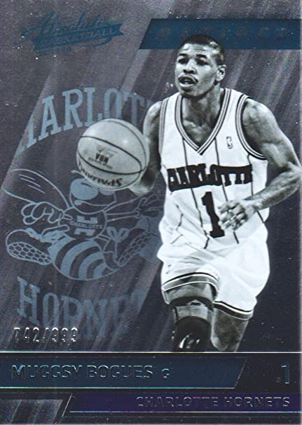 9fac2a2e5 2015-16 Absolute Basketball  130 Muggsy Bogues  999 Charlotte ...