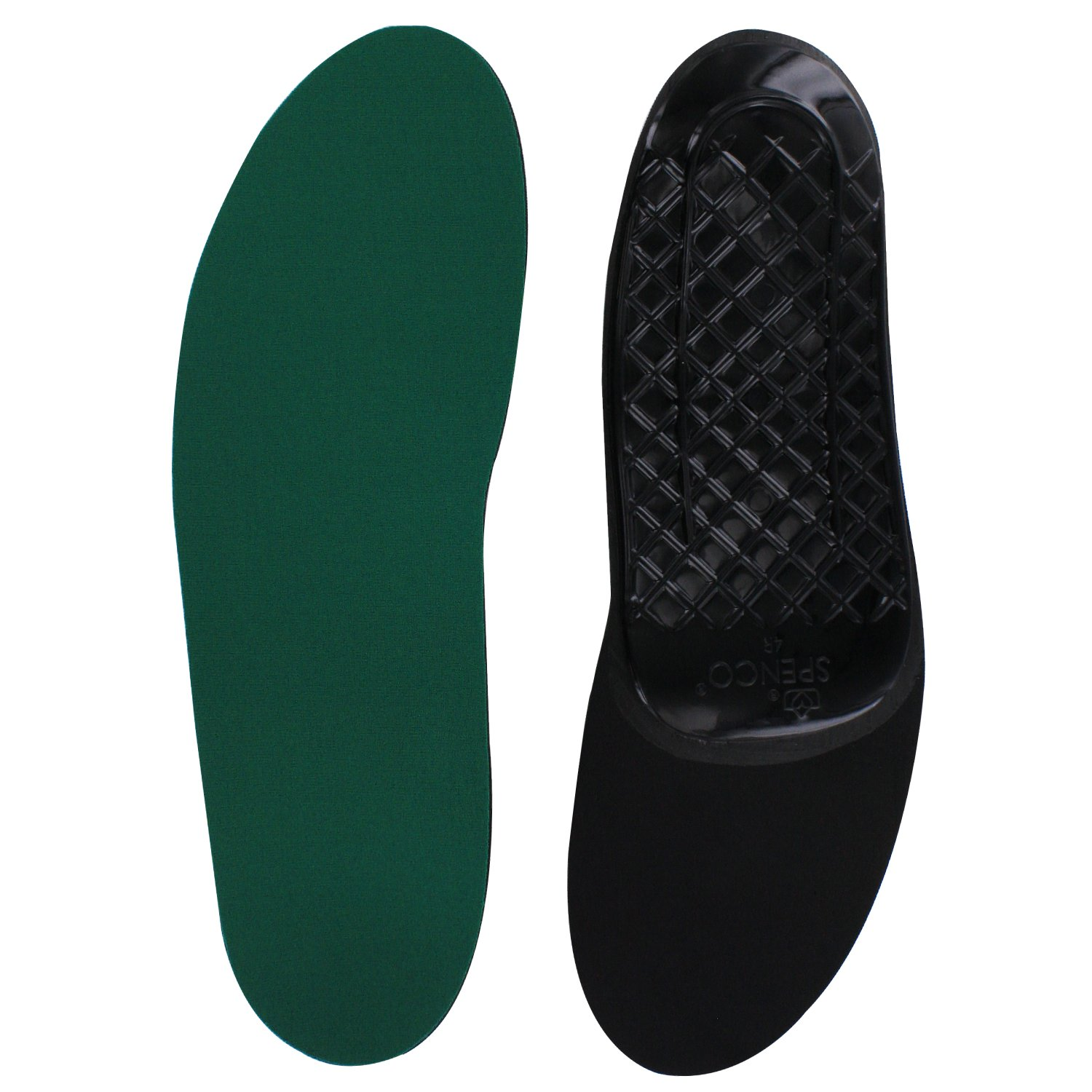 Spenco Rx Orthotic Arch Support Full Length Shoe Insoles, Women's 7-8.5/Men's 6-7.5 by Spenco
