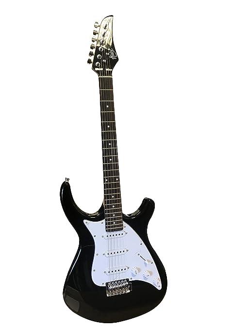 Huxley el-34 Black Guitarra Eléctrica para Niños con altavoz ...
