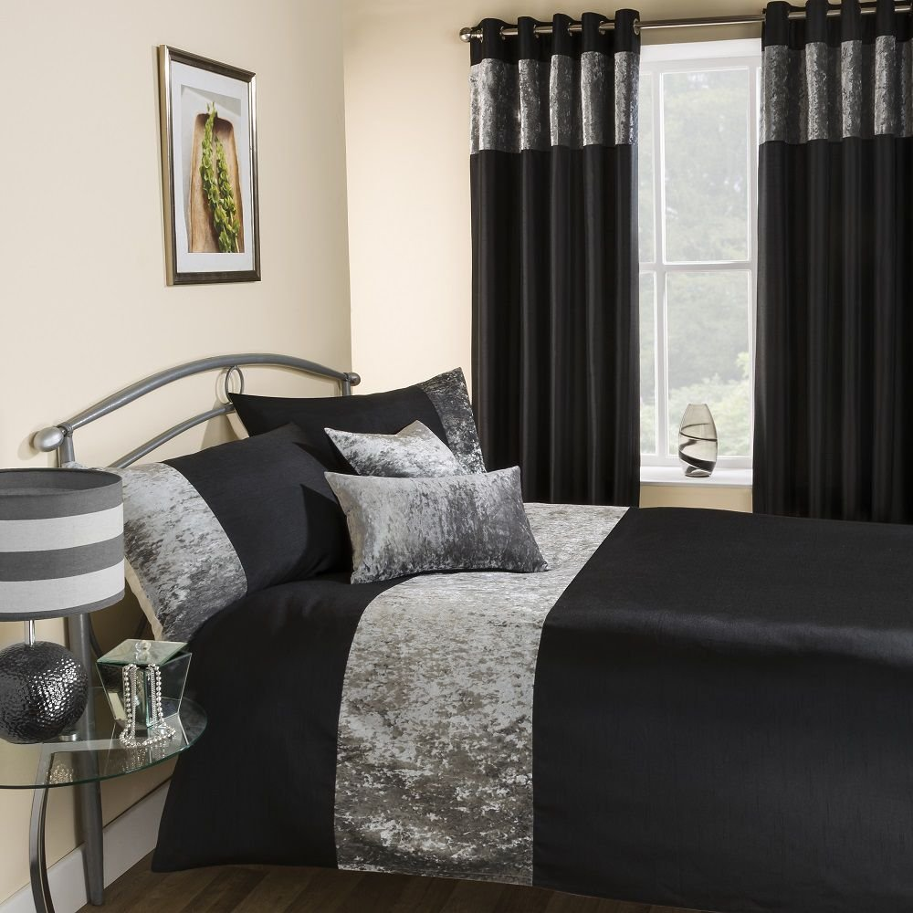 Tony S Textiles Amalfi Quilt Duvet Cover Bedding Set With