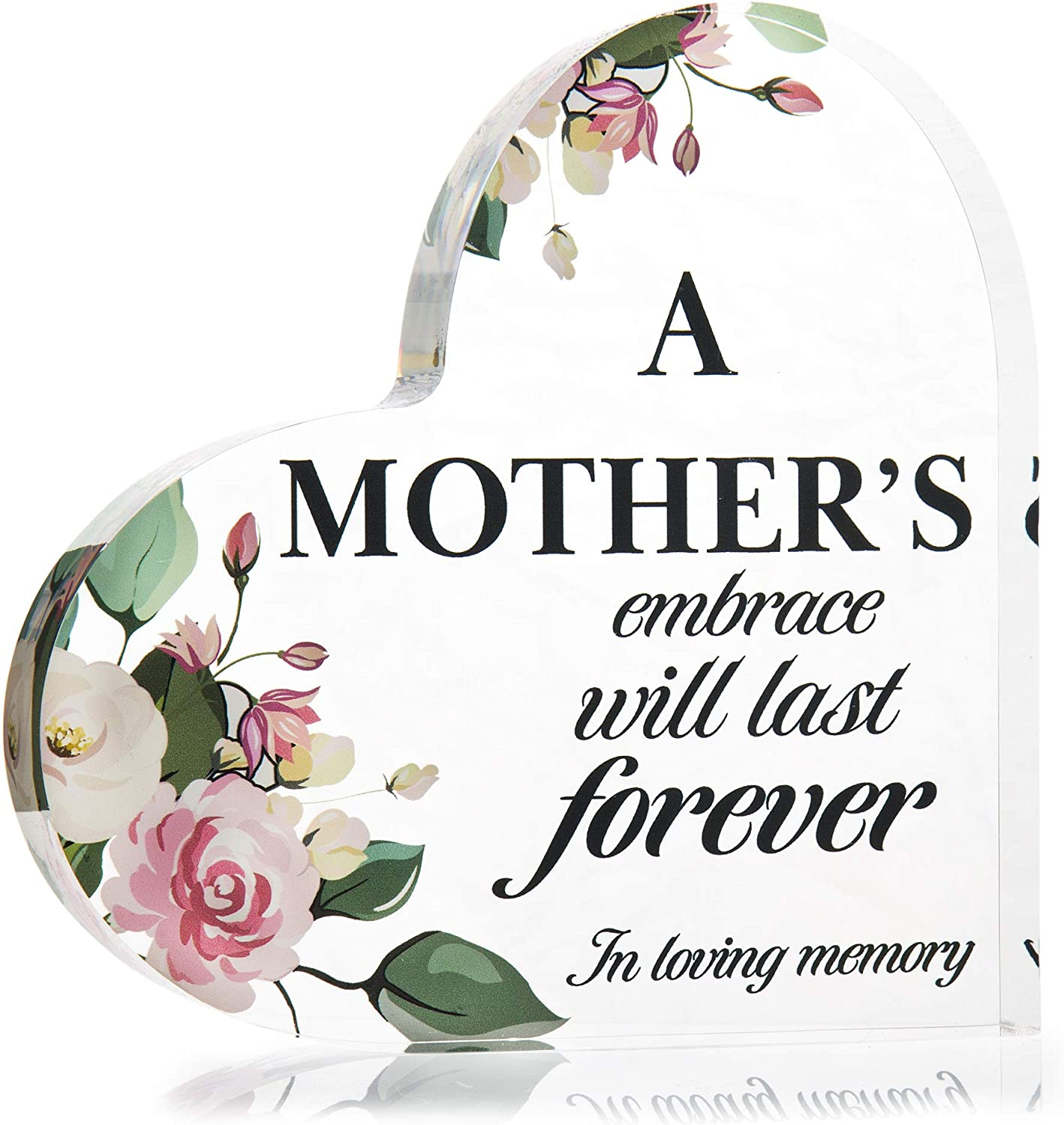 Loss of Mother Memorial gift Mom In memory of Mom sign Remembrance gift Bereavement gift Sympathy gift Memorial sign Loss of loved one gift