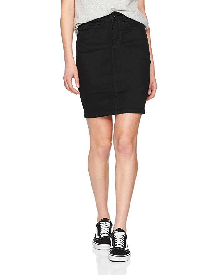 Vero Moda Vmhot Nine HW Dnm Pencil Skirt Mix Noos Falda para Mujer ...