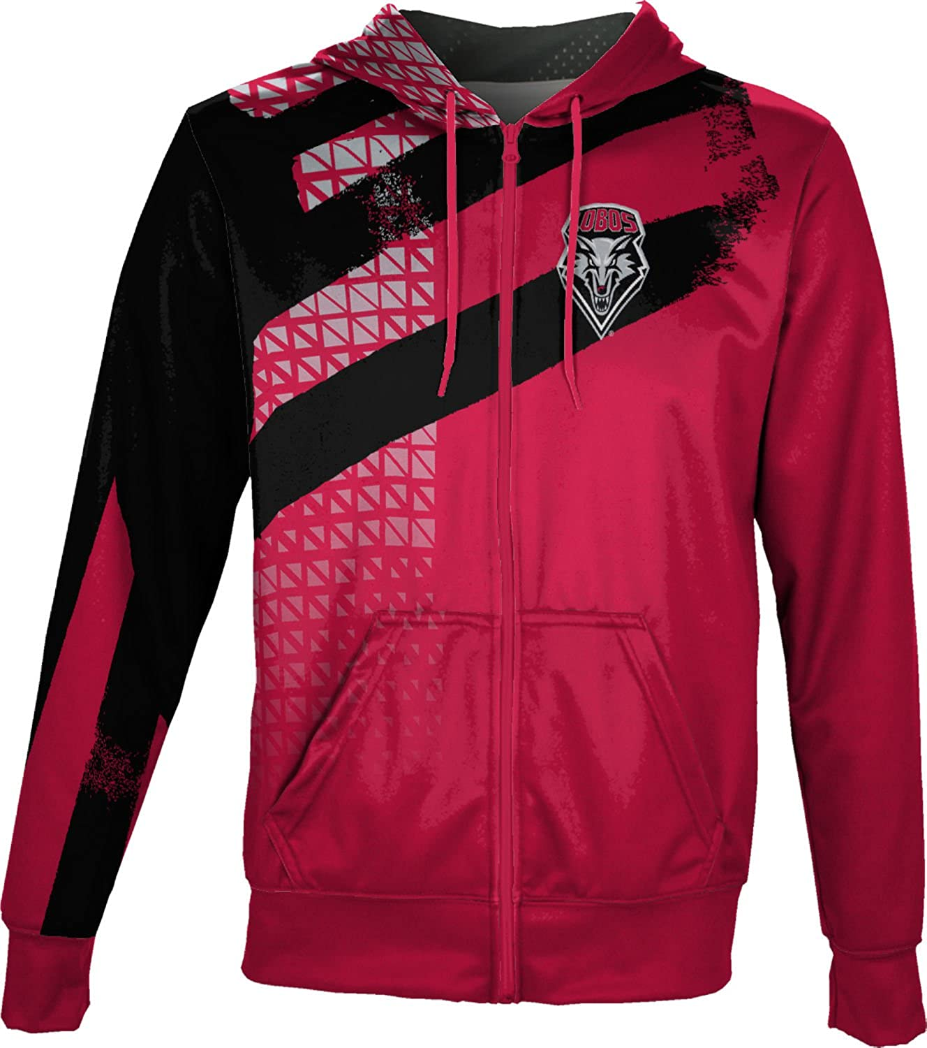 ProSphere University of New Mexico Mens Full Zip Hoodie Embrace