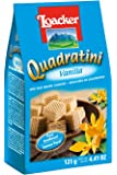 Loacker Quadratini Vanilla Wafer, 125 gm