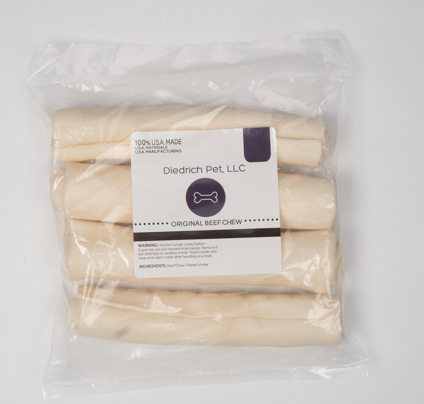 Diedrich Pet 8074 Natural Retriever Rolls Rawhide (4 Pack), One Size